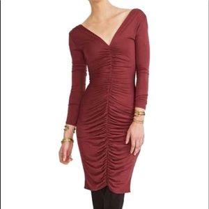 Rachel Pally Media dress color pinot size M